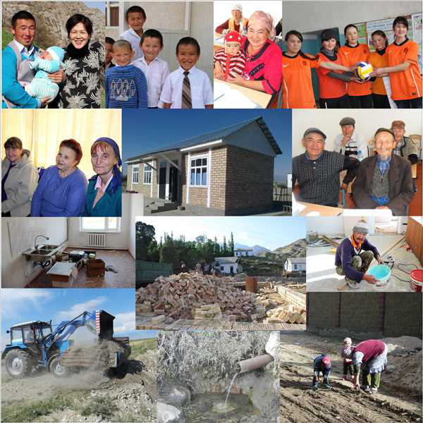 Twenty six rural municipalities of Issyk-Kul and Jalal-Abad oblasts will be granted 1 million soms each