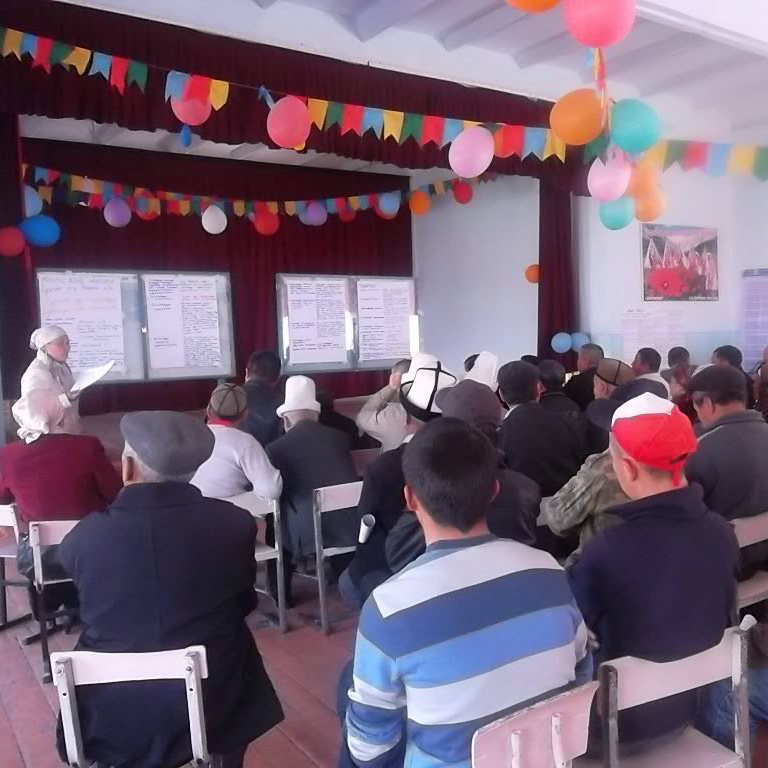Residents of Bagysh municipality supported the modernization of education
