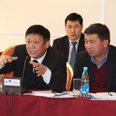 The problems of legislation of the Kyrgyz Republic in the field of electrification of residents of new buildings were discussed in Bishkek