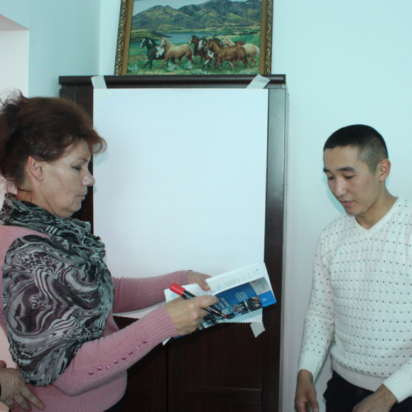 Representatives of target municipalities of VAP in Chui region will learn how to develop project proposals for grant